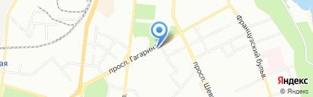 Кофейный клуб на карте Одессы