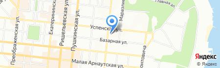 Секрет на карте Одессы