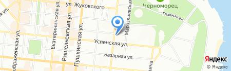 НикоМрамор на карте Одессы