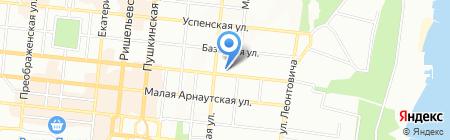 Комільфо на карте Одессы