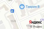 Схема проезда до компании Квадро в Одессе