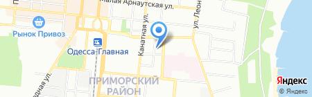 Одесская общеобразовательная школа №57 I-III ступеней на карте Одессы