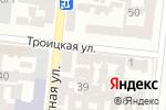 Схема проезда до компании ODESSA FLOWERS в Одессе