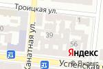 Схема проезда до компании Юг-снаб в Одессе