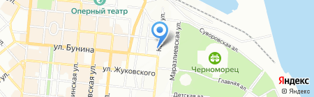 Оптикус на карте Одессы