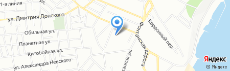 Маррион на карте Одессы