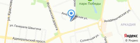 Гомеопат на карте Одессы