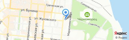 Пілот ТОВ на карте Одессы