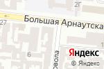 Схема проезда до компании Трактат в Одессе