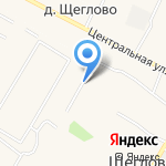 Дом с фонтаном на карте Санкт-Петербурга