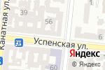 Схема проезда до компании Из добрых рук в Одессе
