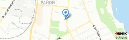 Кернел-Трейд на карте Одессы