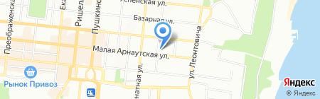 Топ-Тур на карте Одессы