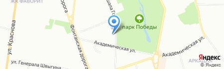 Имидж Парк на карте Одессы