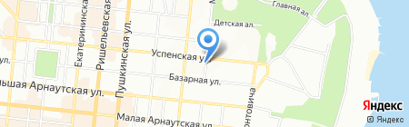 Одесская специализированная школа №94 I-III ступеней на карте Одессы