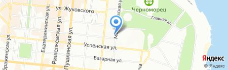 Дом кофе на карте Одессы
