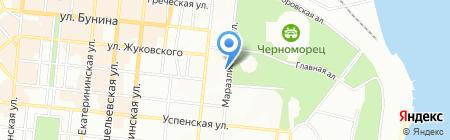 Лицом к лицу на карте Одессы