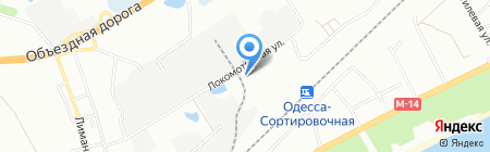 МД Истейт на карте Одессы