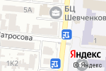 Схема проезда до компании Трансаудит в Одессе