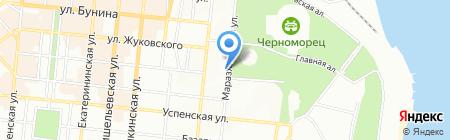 Мореходный колледж технического флота на карте Одессы