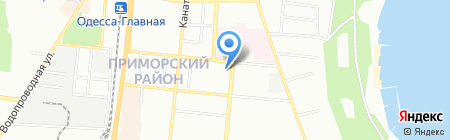 Одесская городская организация ветеранов войны-однополчан на карте Одессы