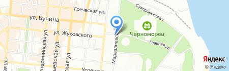 ЛеГранд на карте Одессы