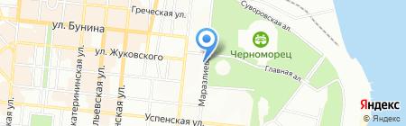 Школа восточного танца Оксаны Изотовой на карте Одессы