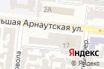 Схема проезда до компании Флёр в Одессе