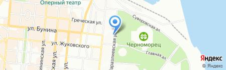 Сигма Пэйнтс Украина на карте Одессы