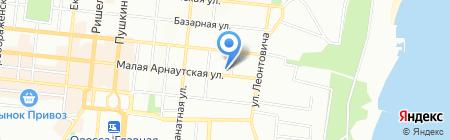Глянец на карте Одессы