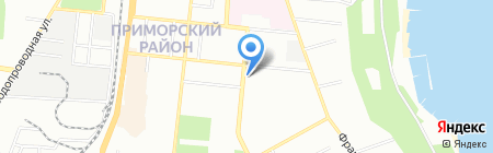 Che Guevara на карте Одессы