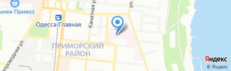 Витэкс на карте Одессы
