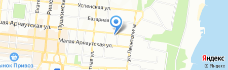 Южреммонтаж на карте Одессы