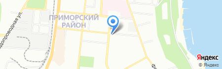 Шу-Шу на карте Одессы