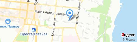 Буфет на карте Одессы