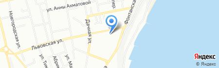 Школа-интернат №87 для слабовидящих детей на карте Одессы