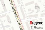 Схема проезда до компании Альтаир в Одессе