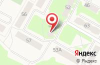 Схема проезда до компании Библиотека в Усть-Ануе