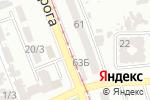 Схема проезда до компании Ключевая помощь в Одессе