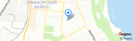 ОНПУ на карте Одессы