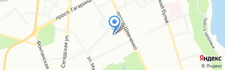 Одесская общеобразовательная школа №62 I-III ступеней на карте Одессы