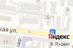 Схема проезда до компании Бамос в Одессе