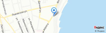Рыба на карте Одессы