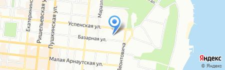 Атум на карте Одессы
