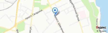 Belleville на карте Одессы