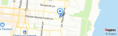 Професіонал на карте Одессы
