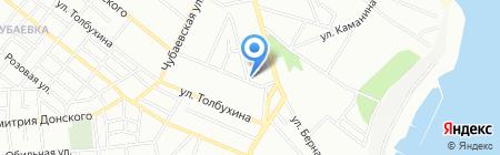 Территориальное отделение Союза аудиторов Украины в Одесской области на карте Одессы