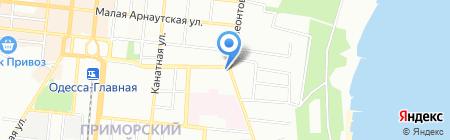 Юго-Запад на карте Одессы