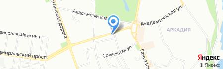 Эдем на карте Одессы