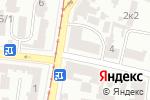 Схема проезда до компании Полиграф в Одессе
